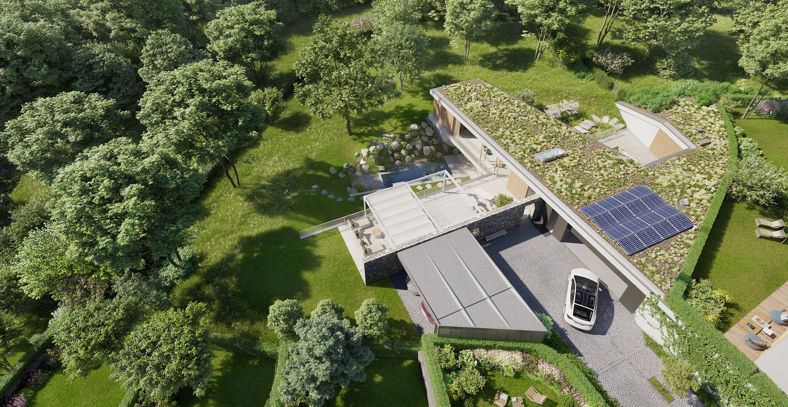 exceptional piece of land with a private grove